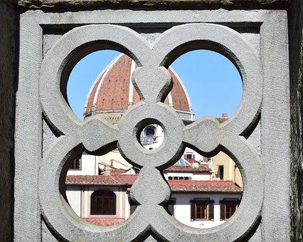 Uffizi, Florence, Italy, Museum, Architecture, Chapel