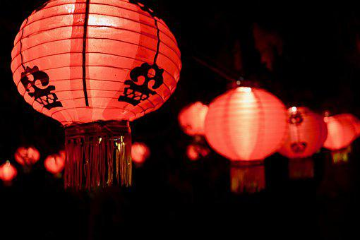Lantern, Color, Night, Light, Colors, Lights, Landscape