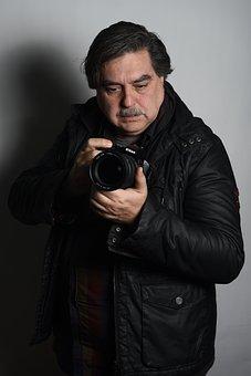 Photographer, Camera, Photos, Photo Man