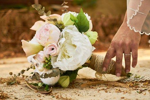 Bridal, Wedding, Flower, Bouquet, El, Reach, Fall, Keep