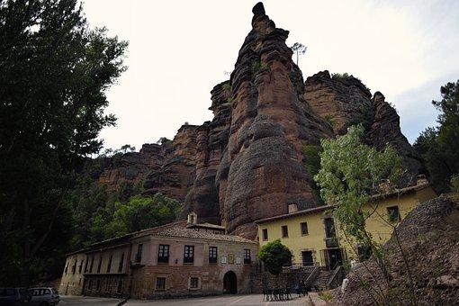 Hermitage, Sickle, Rocks, Spain, Virgin Of The Sickle