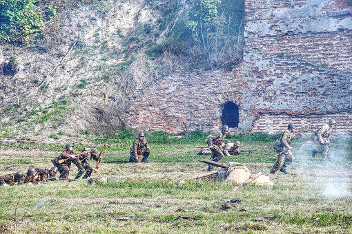 The Military, Soldiers, Staging, The Fortress Of Modlin