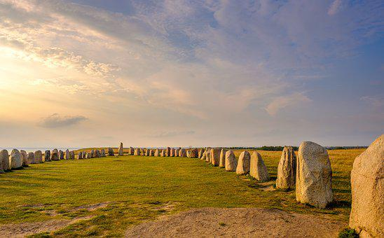 Stone Circle, Calendar, Year Calendar, Moon Calendar