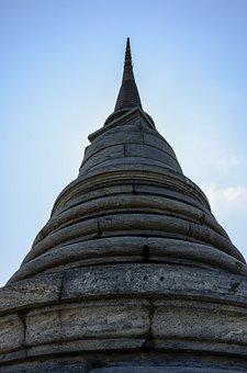 Pagoda, Thailand, Temple, Wat, Buddha