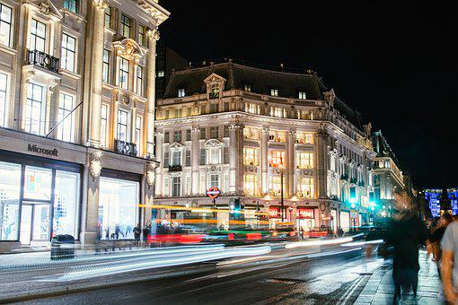 Oxford Circus, London, Uk, England, City, Architecture