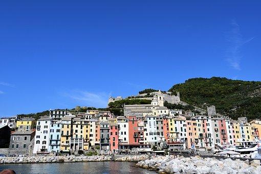 Italy, Cinque Terre, Vacation, Liguria, Village