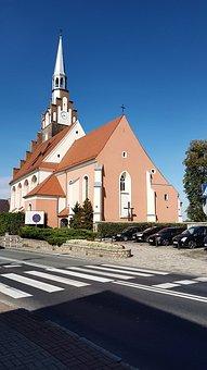 Church, Niemodlin, Poland, Architecture, Europe, Old