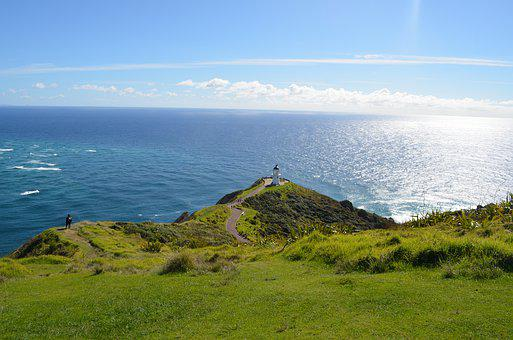 Cape Reinga, New Zealand, Noth Island, Lighthouse