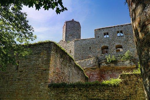 Castle, Middle Ages, Architecture, Fortress, Building