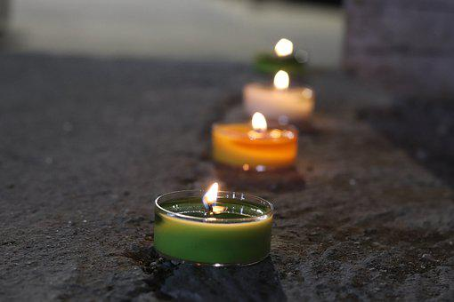 Artistic, Photo, Candles, Art, Colorful, Color, Wax