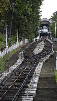The Funicular, Kiev, Coming Down The Tram, Transport