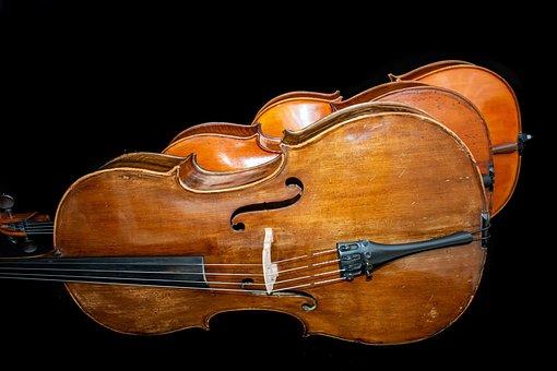 Cellos, Trio, Music, Concert, Instruments, Musical