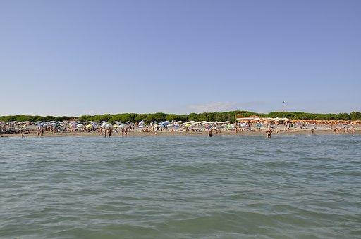 Jesolo, Italy, Veneto, Sea, Travel, Laguna Del Mort