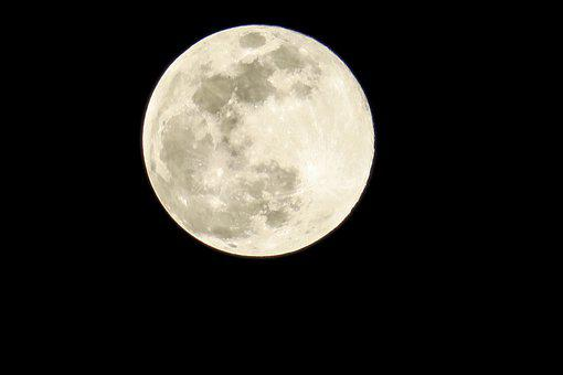 Moon, Night, Moonlight, Space, Nature, Astronomy