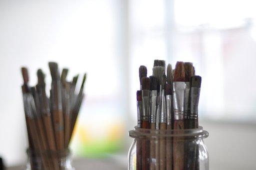 Tassels, Painting, Brush, Creative, Dye