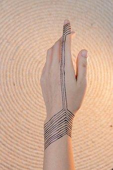 Henna, Hands, Mehendi, Pattern, Female, Palms, Design
