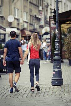 People, Young People, Couple, Boy, Girl, Together