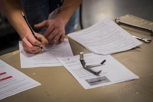 Test, Exam, Quiz, Checklist, Questionnaire, Verify