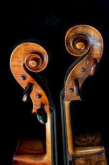 Cello, Music, Violin, Instrument, Sound, Classic, Brown