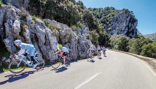Spain, Mallorca, Salobre, Biker, Sport