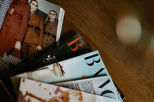 Magazine, Fashion, Woman, Women, Model, Luxury, Read