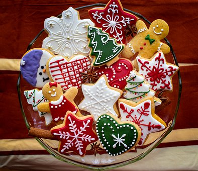Christmas, Gingerbread, Holiday, Cookies, Star, Xmas