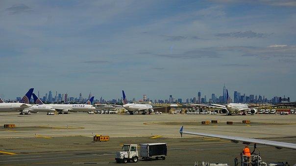 Newark Airport, Ewr, Airport, Nyc Airport, Travel