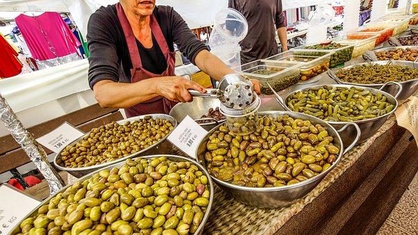 Spain, Mallorca, Market, Balearic Islands, Vacations