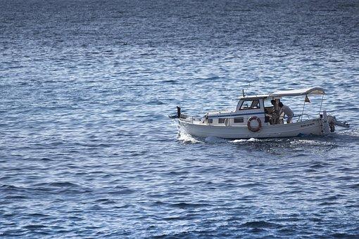 Boat, Lake, Sea, Vacations, Fishing