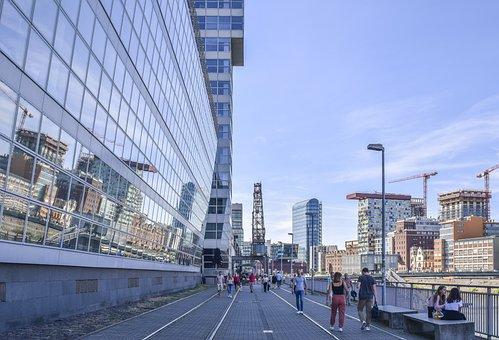Architecture, Building, Skyline, City, Modern