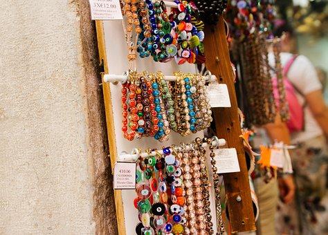 Venice, Italy, Bracelets, Bracelet, Euro, Travel, Water