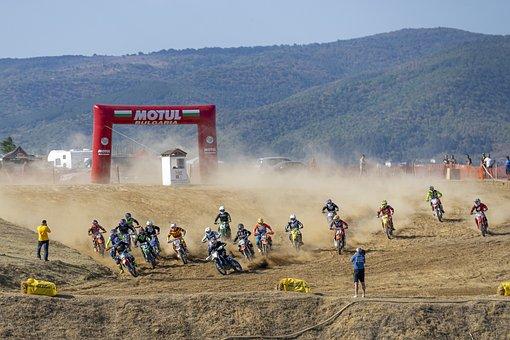 Motocross, Dirt, Mud, Motorcycle, Motorbike, Extreme