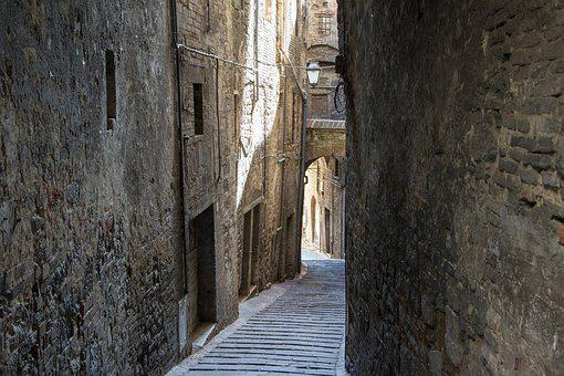 Perugia, Click, Italy, Street, Middle Ages