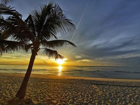 Sunset, Hua Hin, Thailand, Landscape, Morning