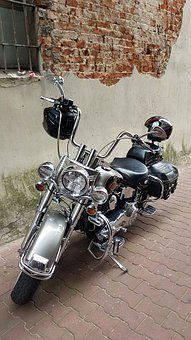 Motorcycle, Motor, Vehicle, Engine, Old, Cult