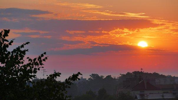 Dawn, Sunrise, Landscape, Sky, Nature, In The Morning