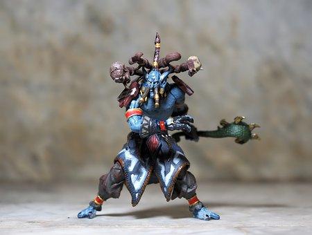 Jungle Troll Priest, War, Craft, Troll, Game, Online