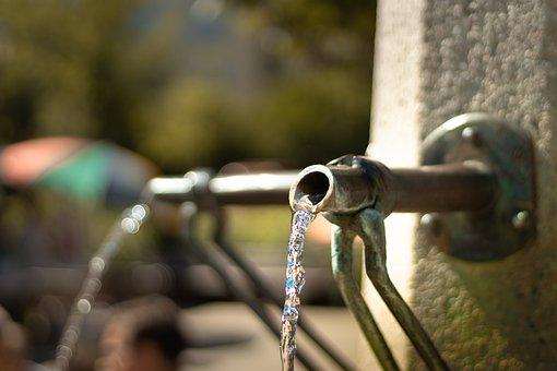 Fountain, Green, Water, Garden, Park, Nature, Summer