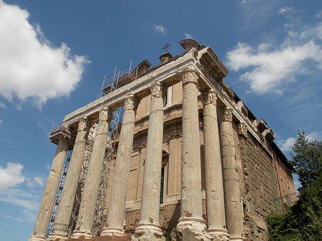 Forum Romanum, Rome, Italy, Roman, Architecture, Ruins