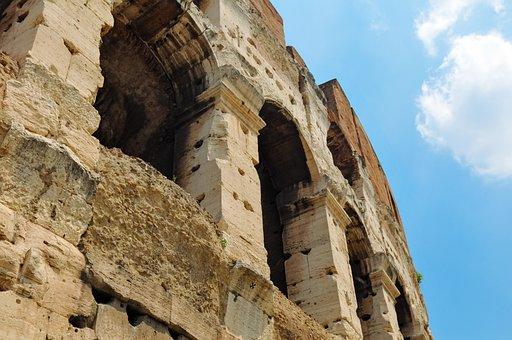 Monument, Colosseum, Rome, Architecture, Landmark