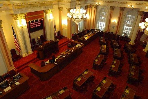 Senate, Hall, Capitol, Building, Legislature