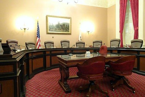 Committee Room, Meeting, Capitol, Building, California