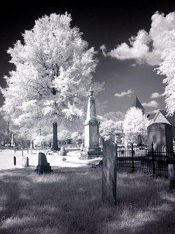 Cemetery, Usa, United States, America, North America