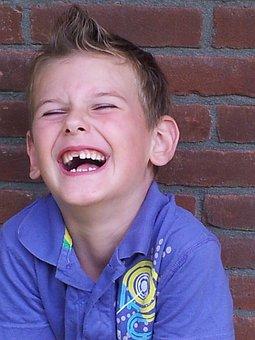 Child, Boy, Laugh, Exchange, Calf's Teeth, Lol, Fun