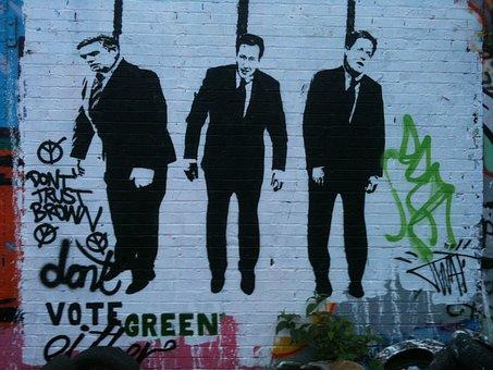 Graffiti, London, Urban, Grunge, City, Paint, Wall