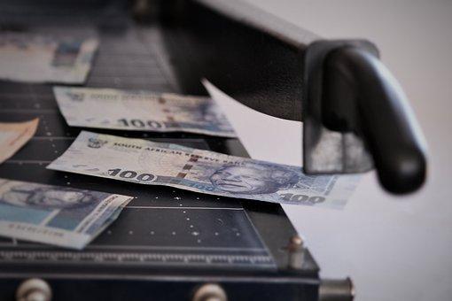 Money, Cutting Machine, Decline In Value, Inflation