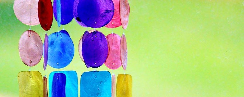 Windspiel, Decoration, Colorful, Color, Wind
