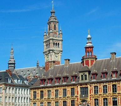 Lille, Belfry, Old Stock Exchange, Facades