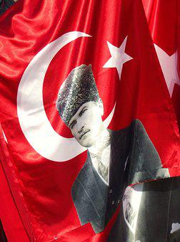 Turkey, Istanbul, Flag, Red, Politics, History