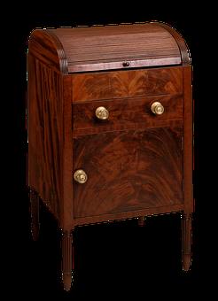 Dressing Table, Mahogany, Tulip Poplar, Furniture, Wood